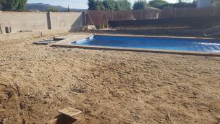 limpieza del terreno de piscina