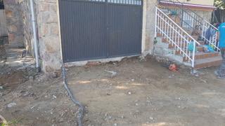 entrada de garaje puesta en marcha