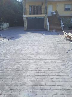 garaje y susperfici exterior