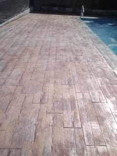 madera de piscina exterior