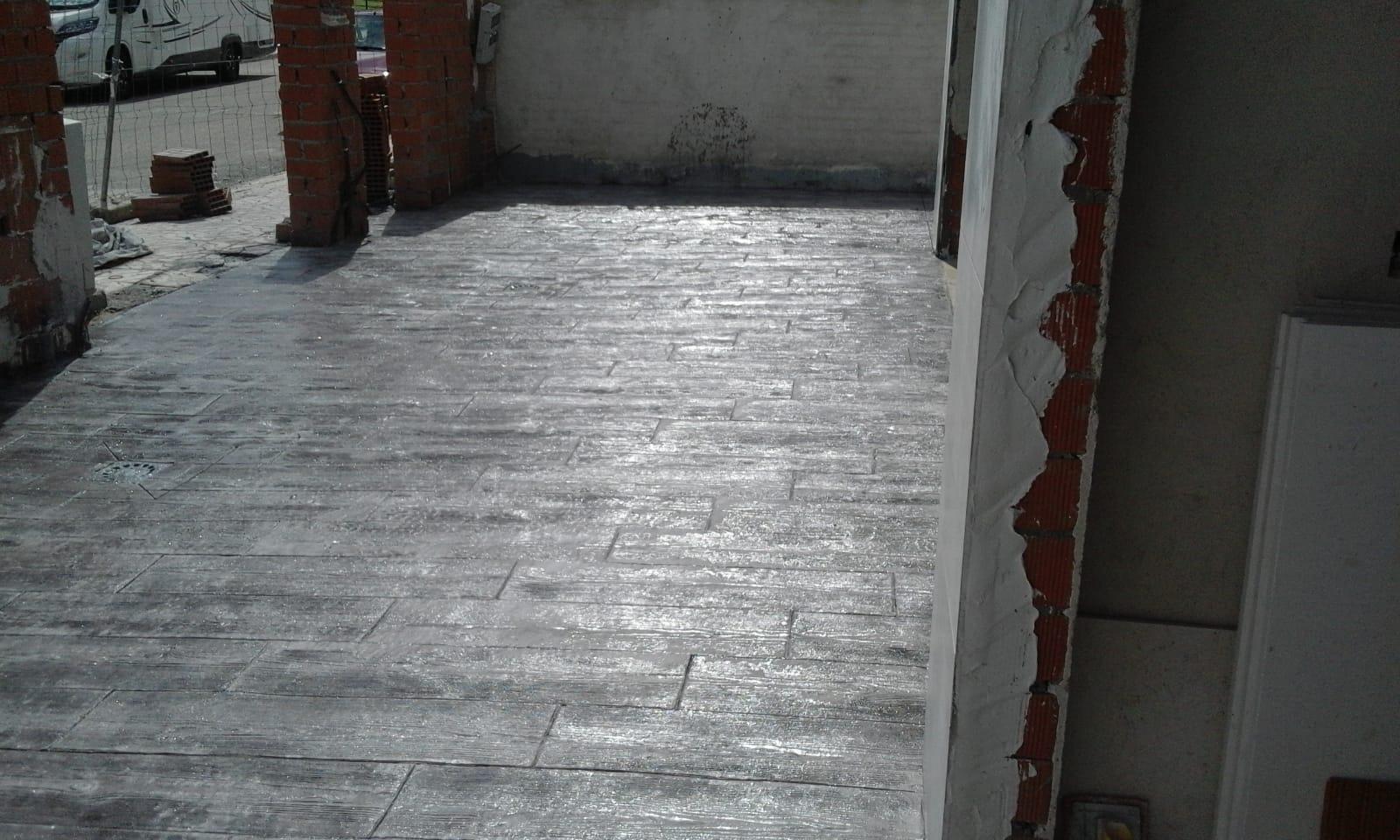 efecto madera osucra para entrada